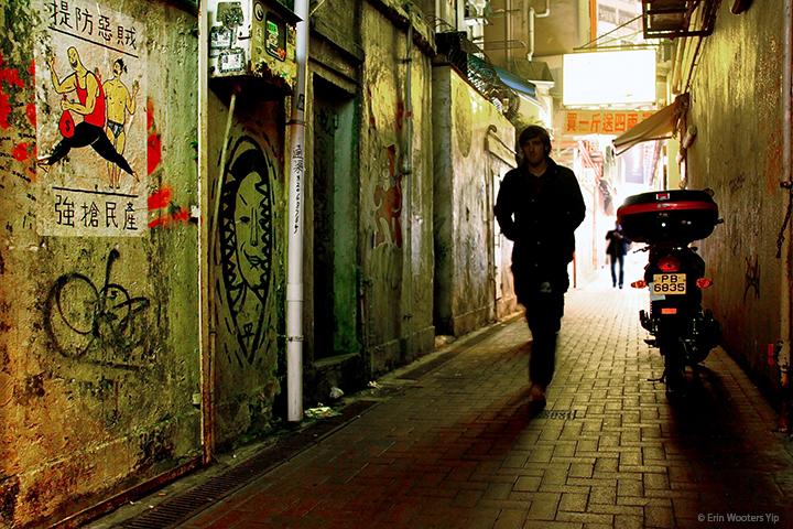Photostudy: The 'Graffiti Alley' of CausewayBay
