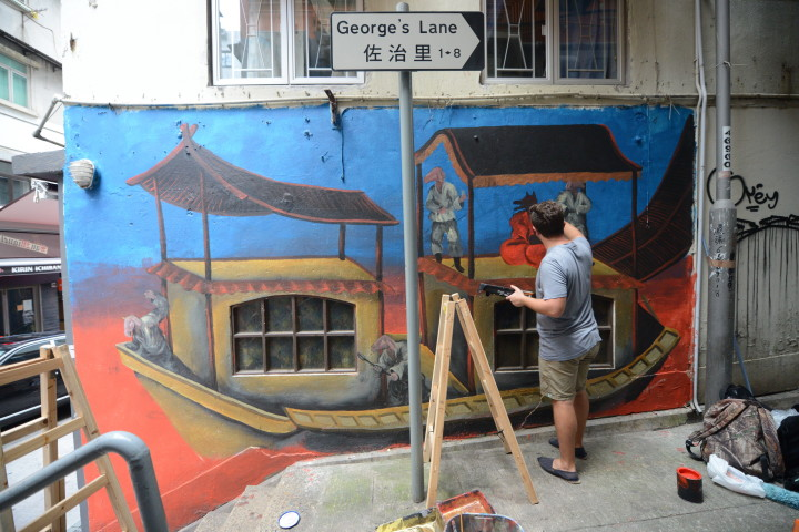 Gallery to street: Agnès b. 'Far East Far West' graffiti exhibition takes it outside