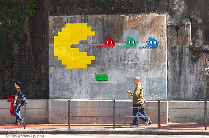 'Invasion' of Hong Kong: French graffiti mosaic artist leaves his mark – PHOTOFEAST